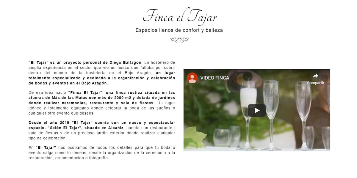Finca El Tajar - Video
