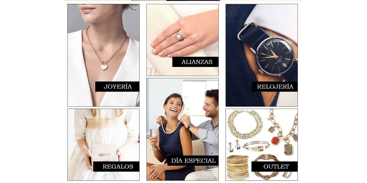 Joyeria Gazulla categorias