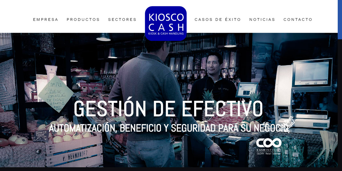 Kiosco Cash home