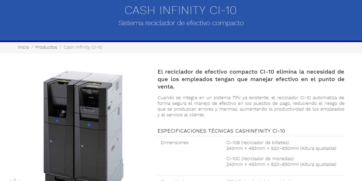 Kiosco Cash productos